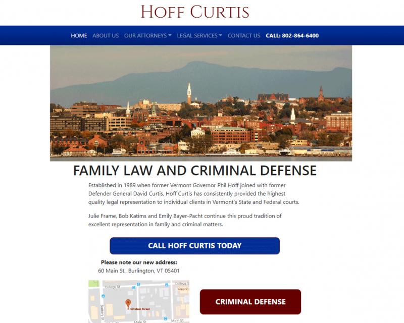 Hoff Curtis - Burlington, VT Lawyers