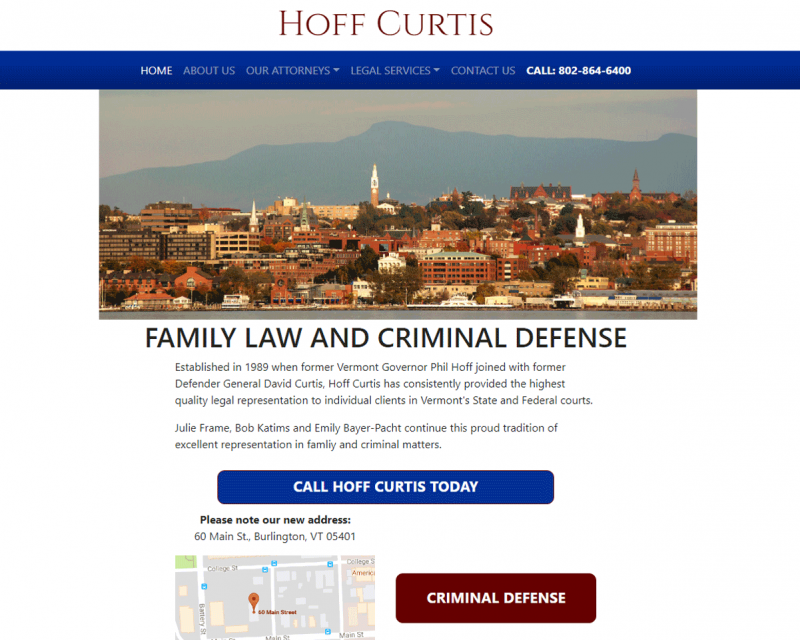 Hoff Curtis - Burlington, VT Lawyers